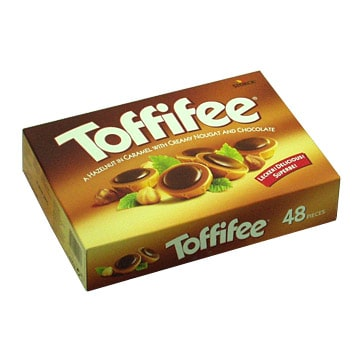Kiev, Chocolates ''Toffifee''